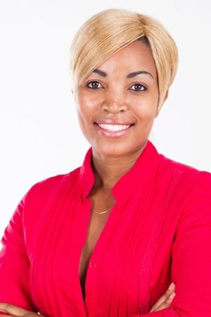 beautiful African woman photo