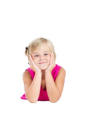 sweet young girl posing photo