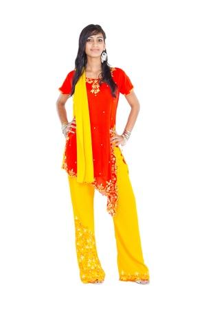 traditonal: traditonal indian woman Stock Photo