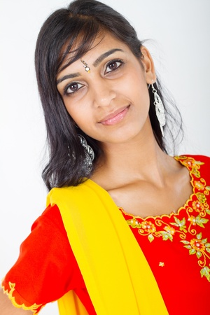 young indian beauty photo