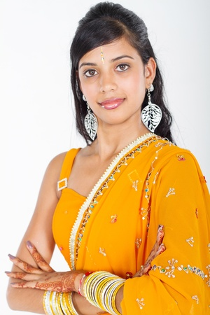 portrait of indian beauty photo