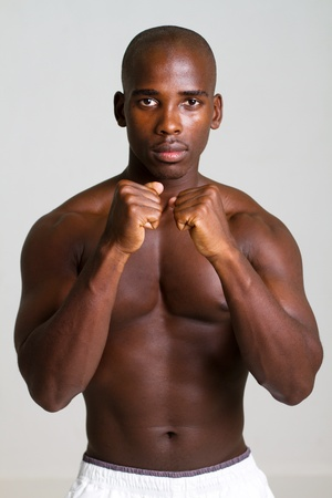 african boxing man photo