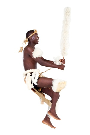 african zulu dancer photo