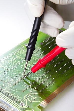 engineer repairing computer hardware Stock Photo - 9091739