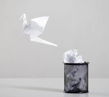 waste paper: reciclaje de residuos de papel