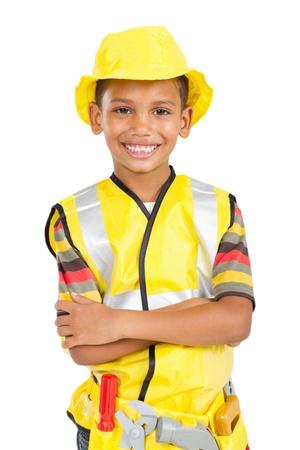 cute little construction builder photo