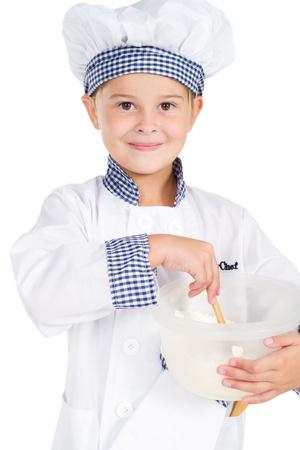 cute little baker photo