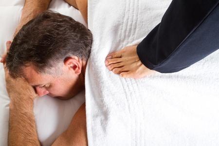 masseur: Thai massage
