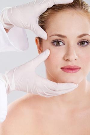 skin check before plastic surgery photo