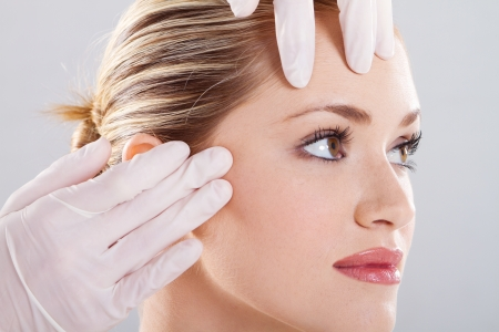 skin check before plastic surgery Stock Photo - 9771954
