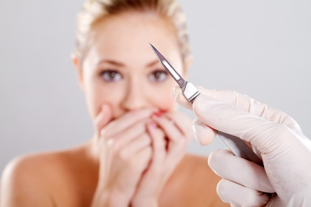 scary plastic surgery photo