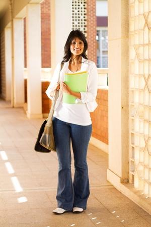 female college student photo