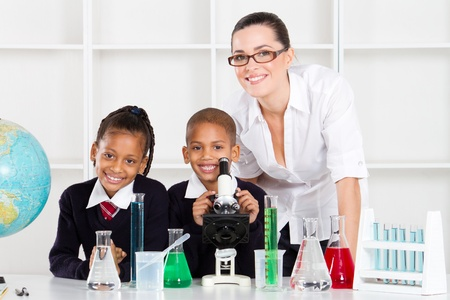 elementary science class Stock Photo - 10740339