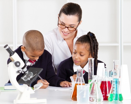 primary science class Stock Photo - 10746928