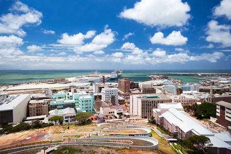 cape town: cityscape of Port Elizabeth, South Africa