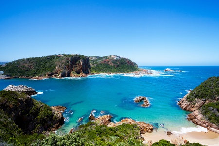 featherbed nature reserve in Knysna, South Africa 스톡 콘텐츠