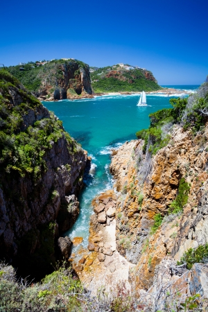 south africa: landscape of Knysna, Western Cape province, South Africa