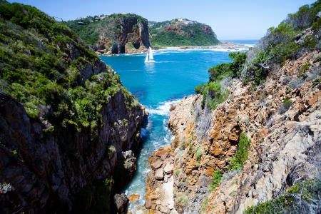 south africa: landscape in Knysna, Western Cape province,  South Africa