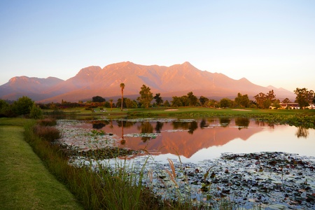 south africa nature: landscape in George, South Africa
