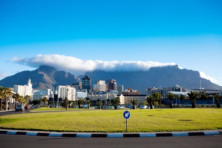 cityscape of Cape Town, South Africa photo