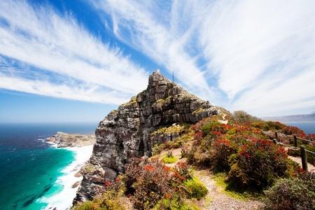 ケープ ポイント、岬半島、南アフリカ 写真素材