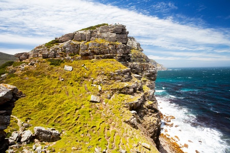 scenery of cape of good hope, south africa photo