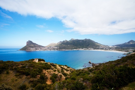 chapman: overall view of hout bay from chapman