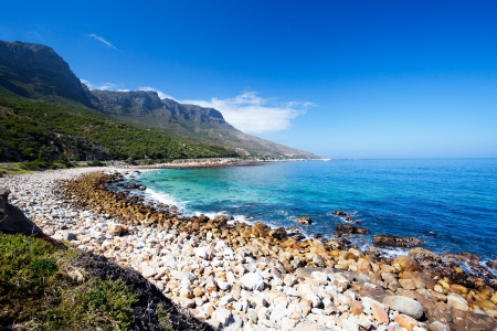 cape town: hout bay beach, cape peninsula, south africa