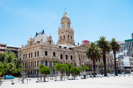 old town hall: city hall of cape town, south africa Stock Photo