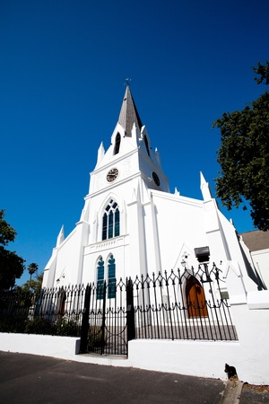 old church building in Stellenbosch, South Africa photo