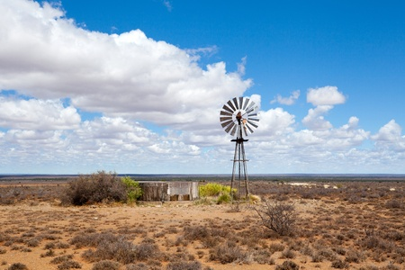 wind mill: wind mill in Free State, South Africa