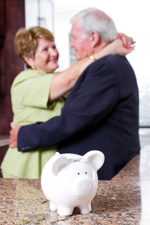 retirement investment for senior couple photo
