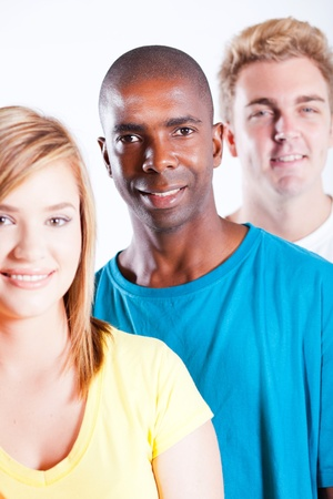 multi cultural: young people diversity  Stock Photo