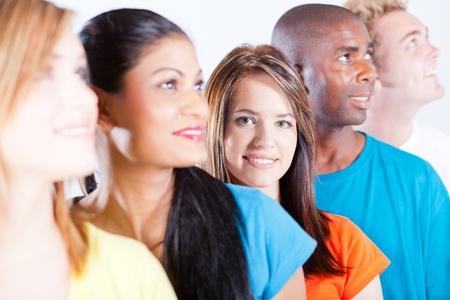 diversidad cultural: la gente del grupo la diversidad Foto de archivo