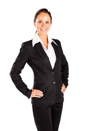 half  length: happy young business half length portrait