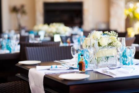wedding table setting Stock Photo - 13737457
