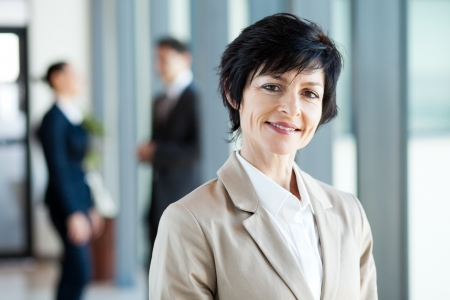 modern middle aged businesswoman portrait  Stock Photo - 14899047