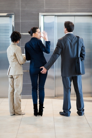 sexual harassment in workplace photo