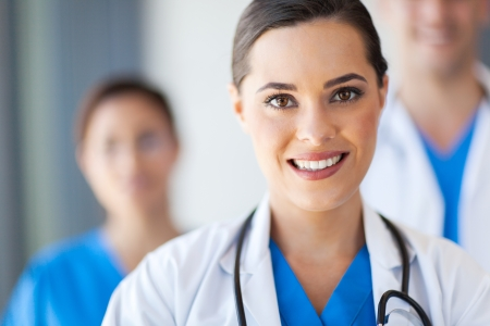 uniforme medico: grupo de trabajadores m�dicos