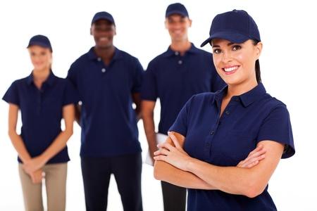 professionele technische dienst leider en team