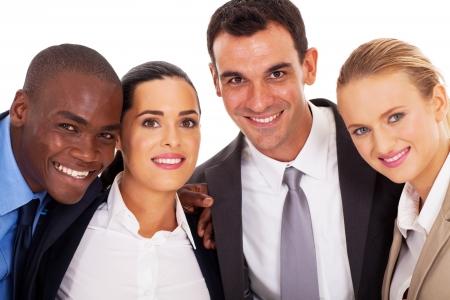 young business team closeup portrait Stock Photo - 17781915