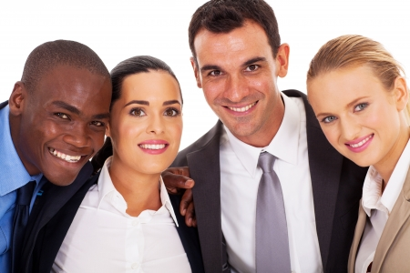 young business team closeup portrait Stock Photo - 17781915