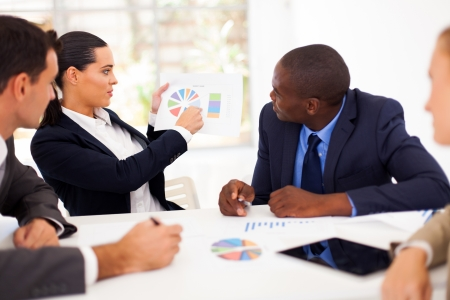 group of business people having meeting together Stock Photo - 17781801