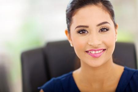 portrait of beautiful indian businesswoman close up Stock Photo - 18983717