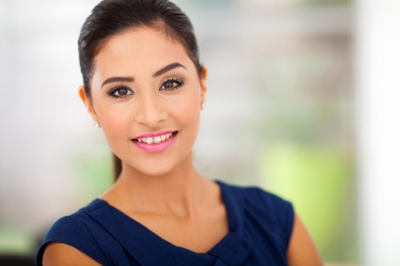 portrait of young woman in office close up Stock Photo - 18983649