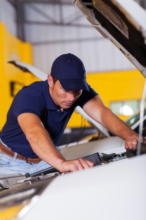 professionall vehicle technician at work Stock Photo - 19202498