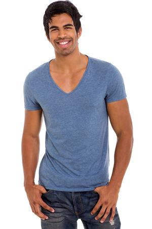mannequins hommes: beau mod�le masculin indien isol� sur fond blanc