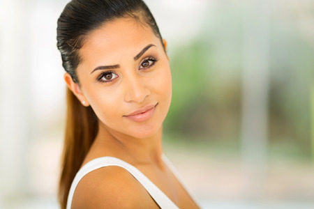 beauty shot: attractive young woman beauty shot closeup