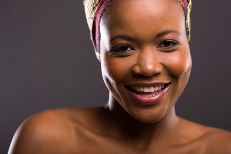 zulu: close up portrait of young black beauty
