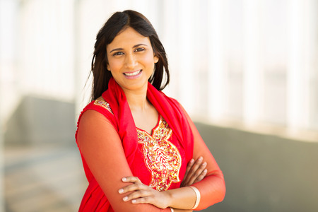 gorgeous businesswoman: portrait of gorgeous young indian businesswoman